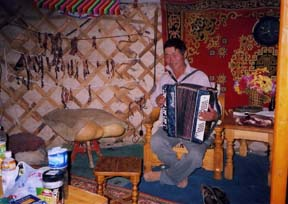 Day 4 accordion player